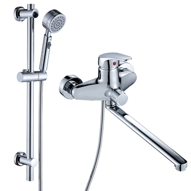 Shower Faucet System Chrome Shower Faucet Set Handheld Shower With