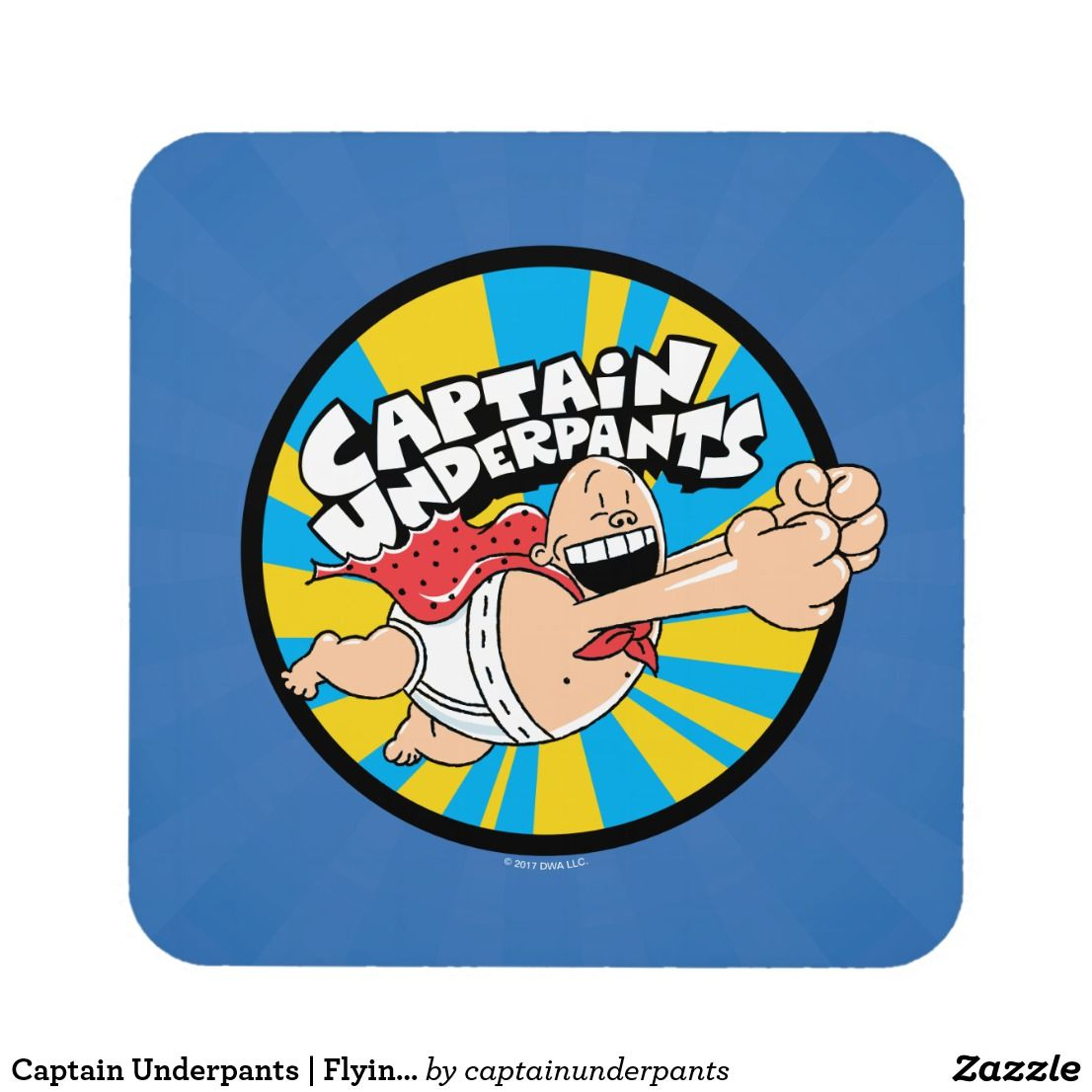 Flying Hero Badge Coaster