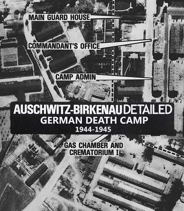 Scroll Down To View Map EN AuschwitzBirkenau Was A Network Of - Third reich map 1944