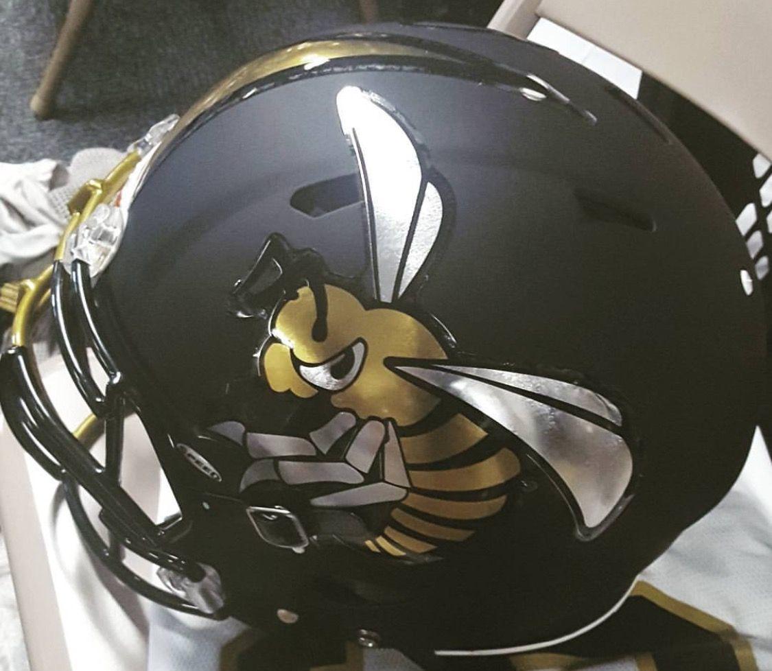 Alabama State Hornets Football Helmets Alabama State University