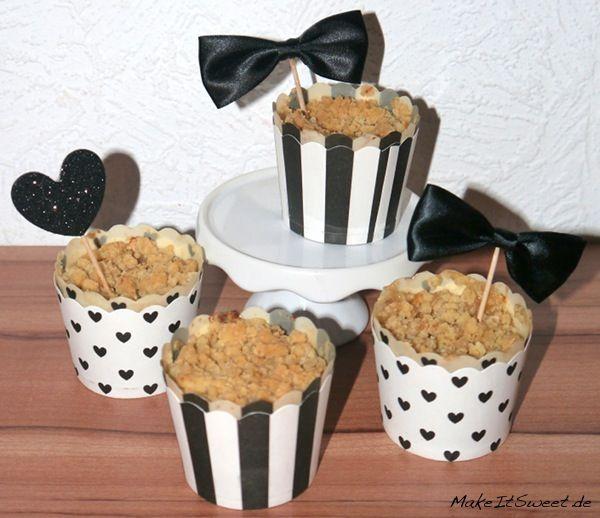 Apple-Crumble-Muffins Rezept #apfelmuffinsrezepte