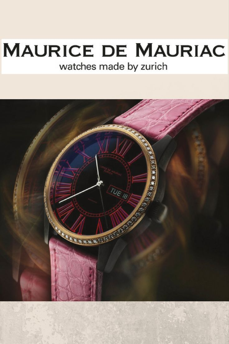 Pink Lady Elegant Swiss Made Watches For Women Swiss Made