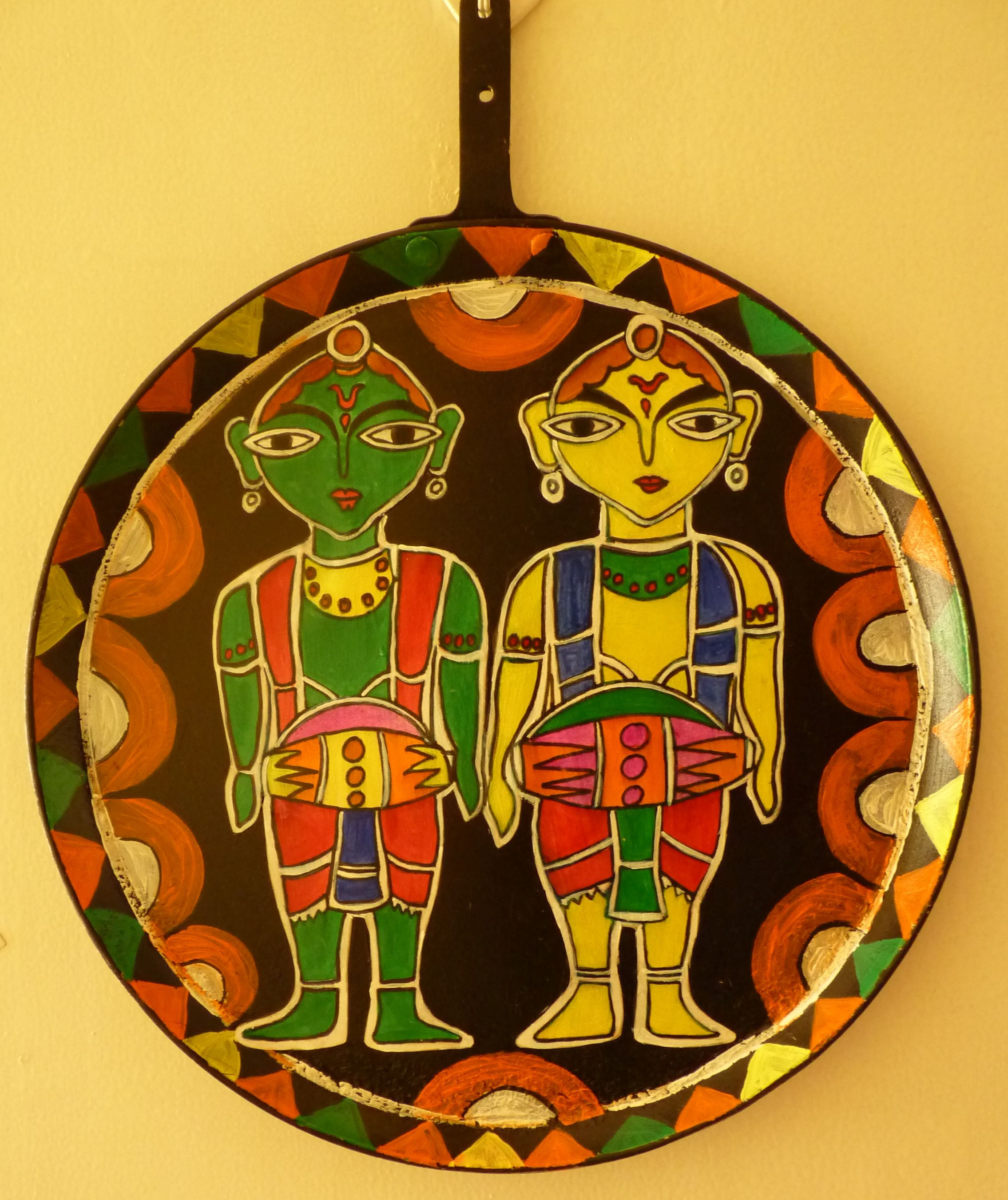 Modern Folk Art Wall Hangings Inspiration - The Wall Art Decorations ...
