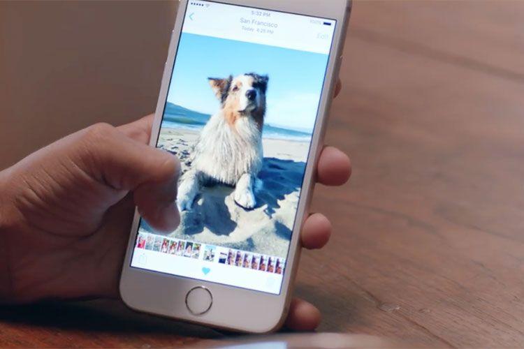 Как сделать живое фото на iphone 6