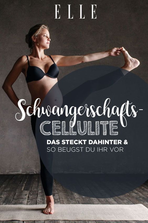 Cellulite In Der Schwangerschaft