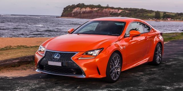 2018 lexus two door. beautiful door expected to be launched early in the company is planning expand its two door sporty car collection with newest model 2018 lexus rc 350 f sport and lexus two o