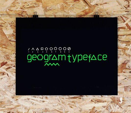 Geogram Free Font | Download 100 Font Gratis untuk Desain Grafis ...