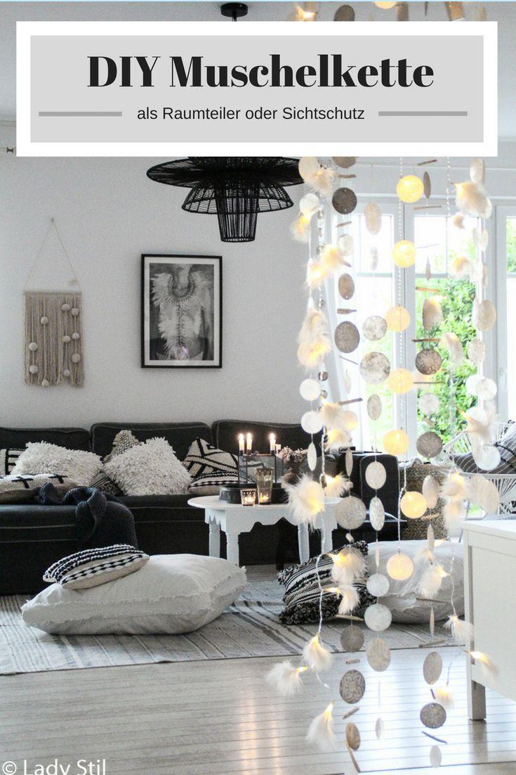stilvolle moderne raumteiler definieren wohnbereich, diy muschelvorhang raumteiler und tolle neuigkeiten | casa, Design ideen