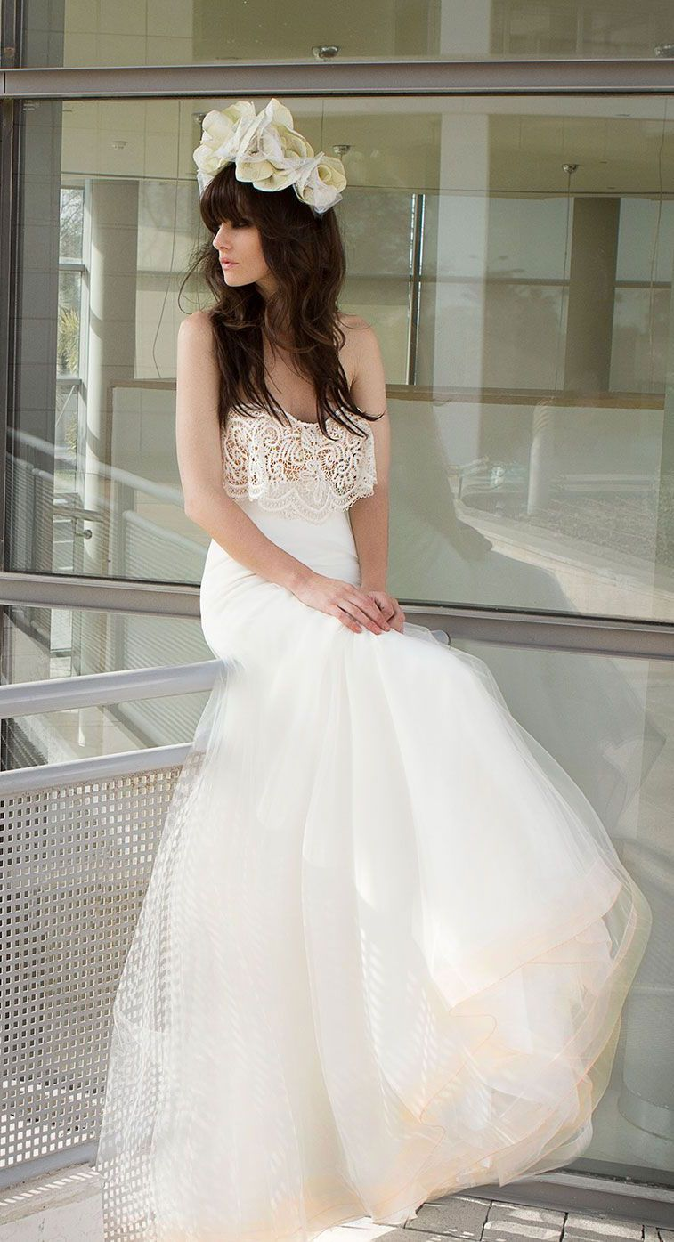 Zahavit Tshuba Wedding Dresses – Boho Boho Brides Collection