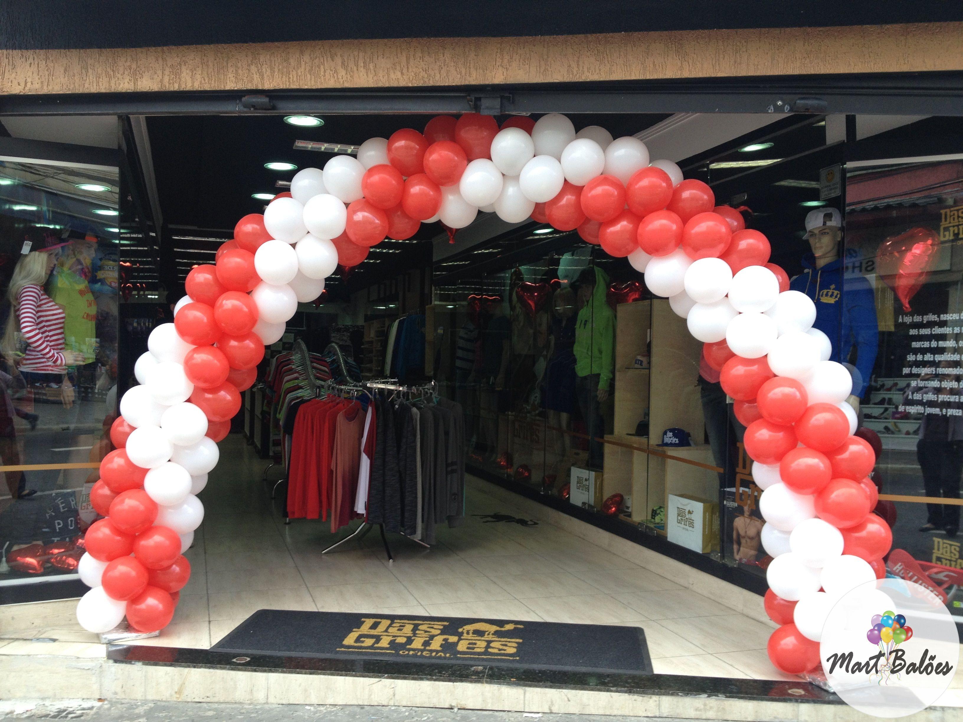 Arco na entrada da Loja