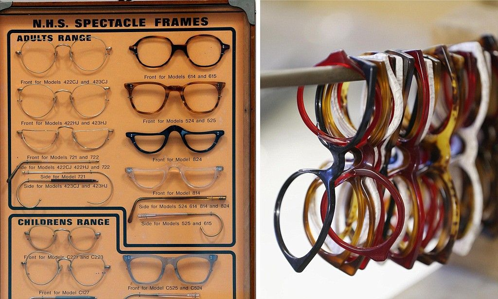 Now these are some glam glasses! See inside Britain's only bespoke frame-making factory which has been in business since 1932
