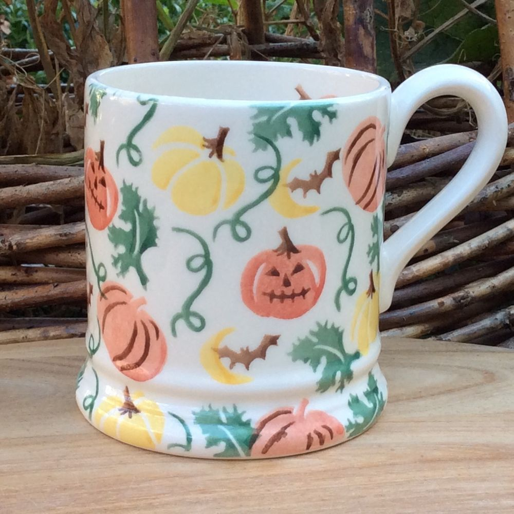 Emma Bridgewater Mokken.Emma Bridgewater Pumpkins Halloween 2018 1 2 Pint Mug
