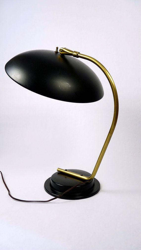 Mid-Century Modern Lightolier Desk Lamp by Gerald Thurston ...