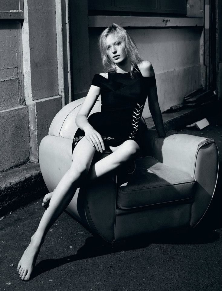 Julia Nobis by Willy Vanderperre for i-D Summer 2014