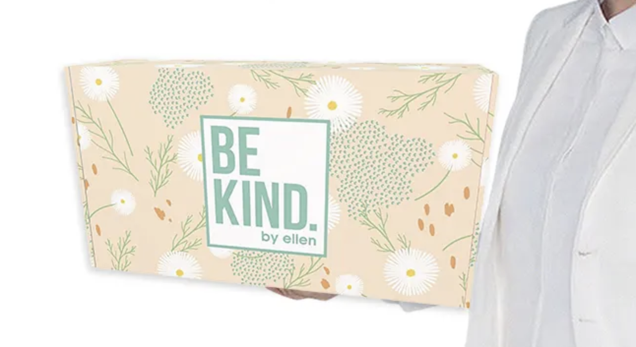 Be Kind By Ellen Box Spring 2020 Spoilers Coupon Hello Subscription In 2020 Box Spring Kindness Spoiler