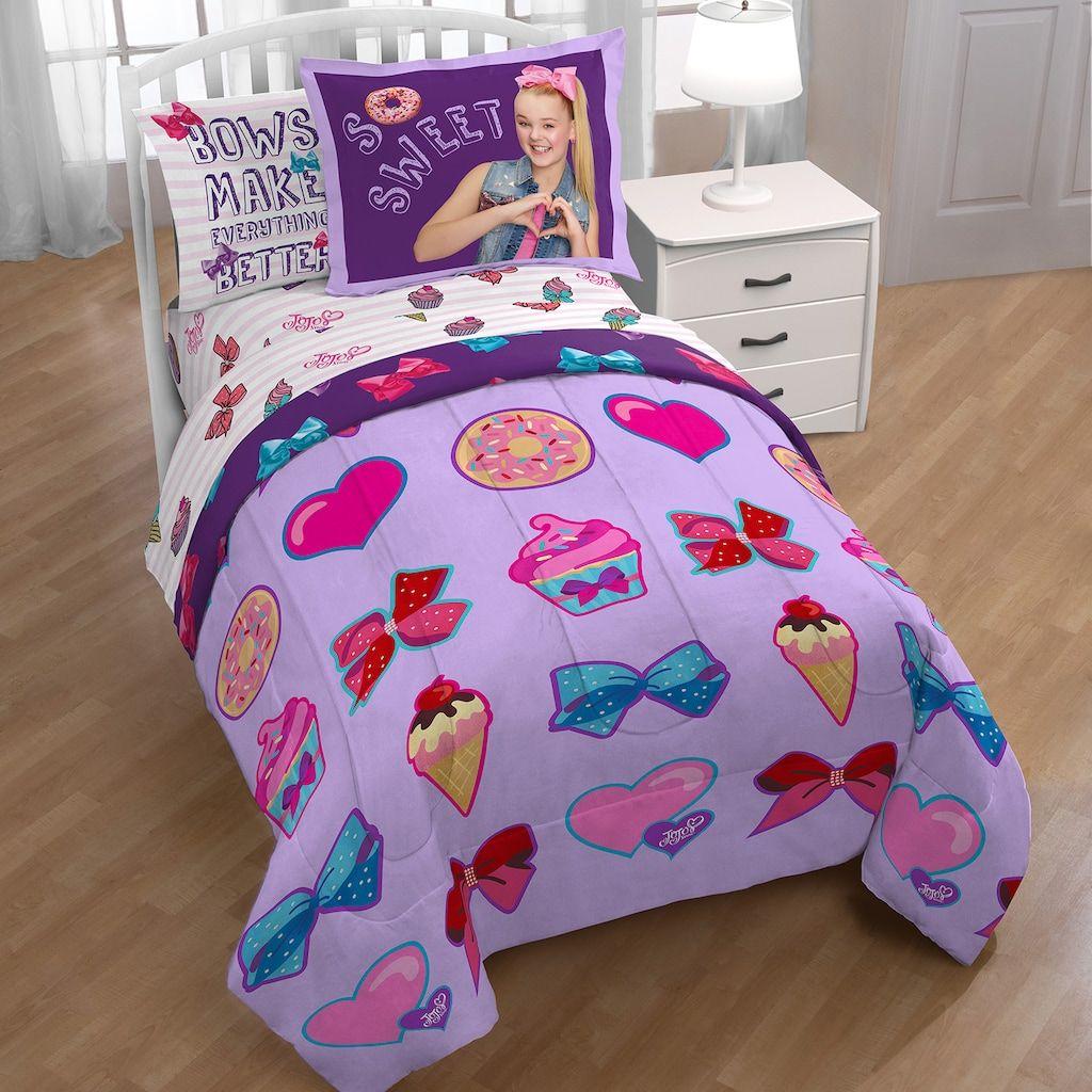 JoJo Siwa Sweet Life Twin Full Comforter Comforter sets