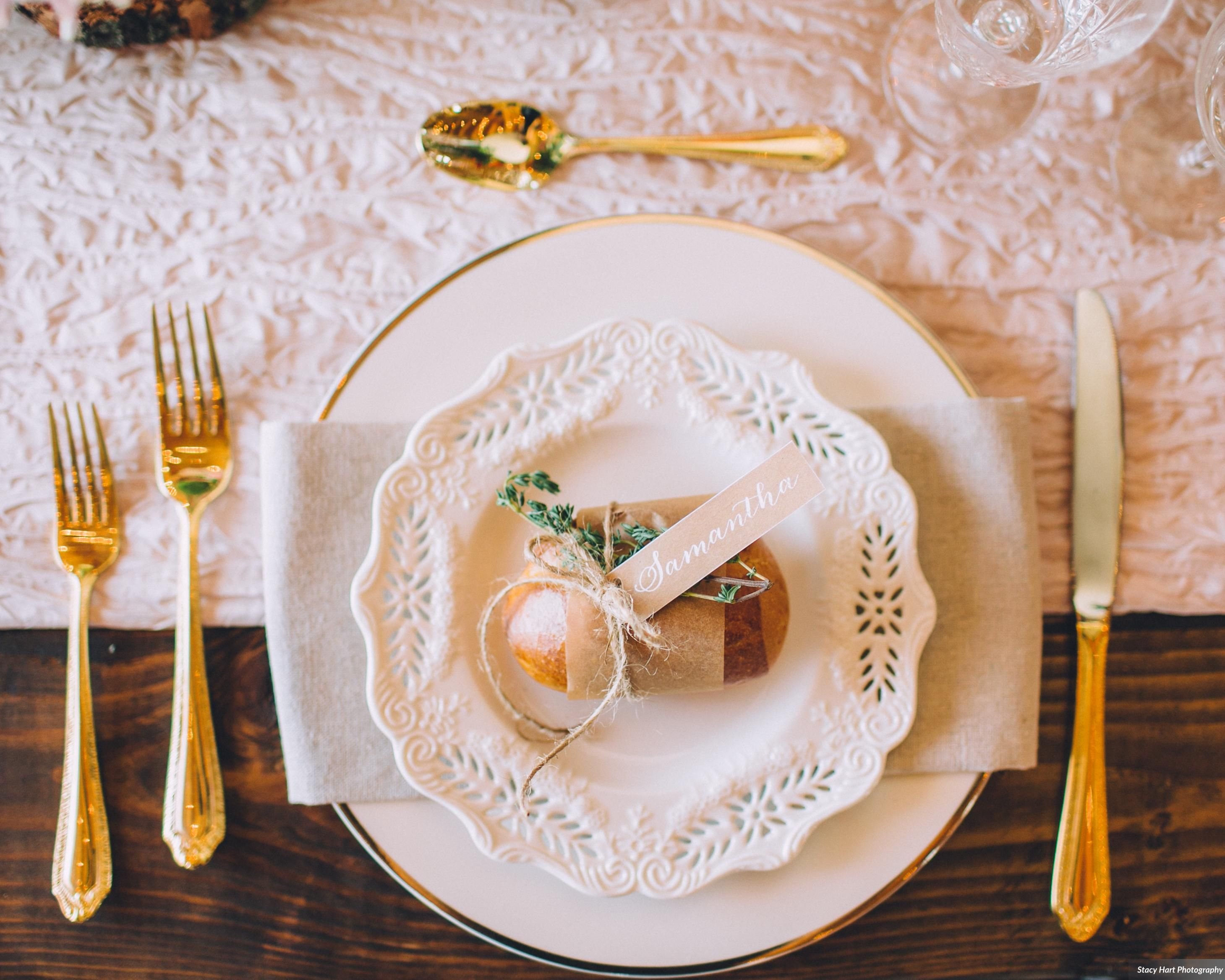 Barn wedding table settings  Table set up  Our Events  Pinterest