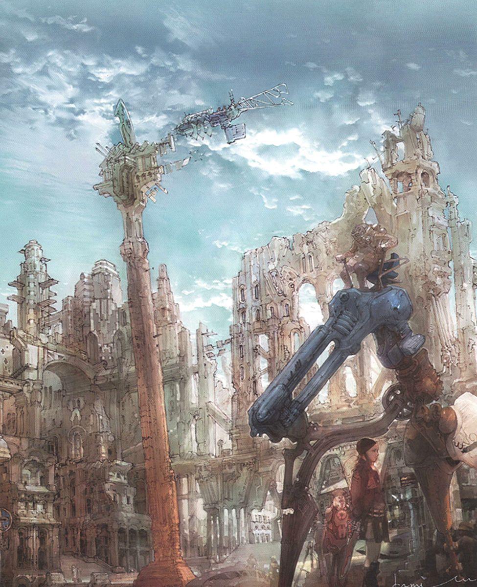 Isamu Kamikokuryo Final Fantasy Ideias Rpg