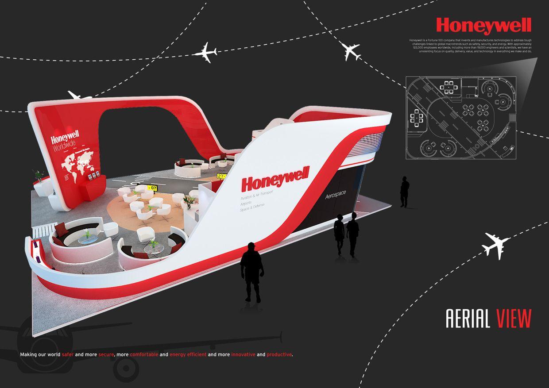 Exhibition Stand Design Singapore : Honeywell aerospace singapore airshow on behance