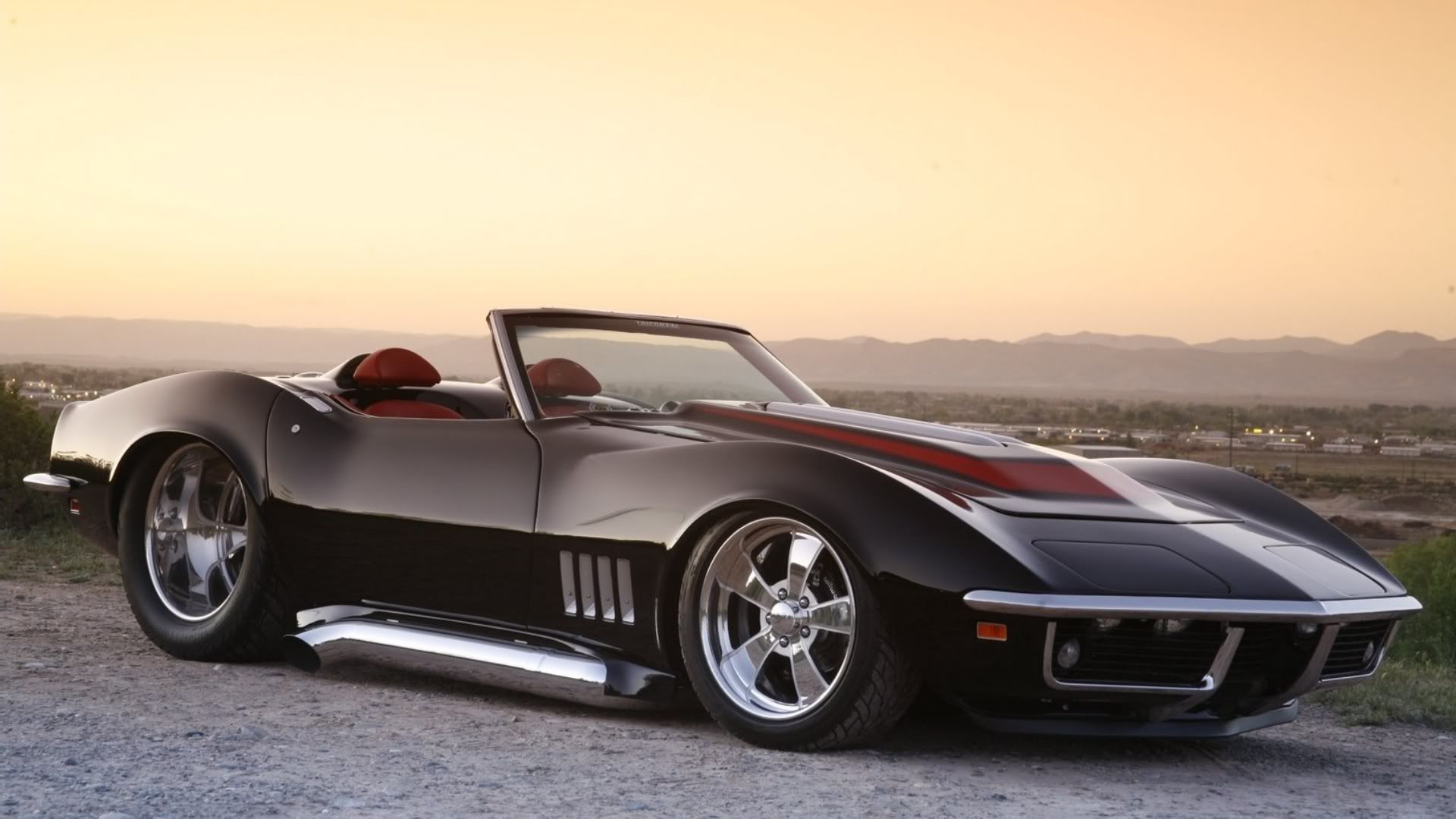Corvette From The 1969