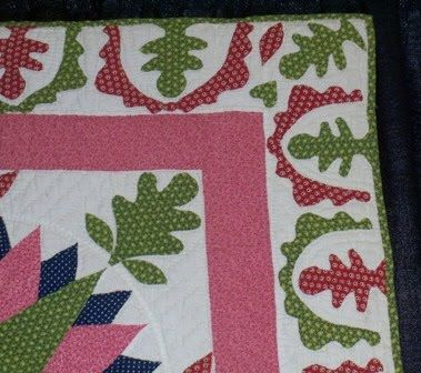 Repro Quilt Lover: Love this border | Borders with Applique ... : repro quilt lover - Adamdwight.com