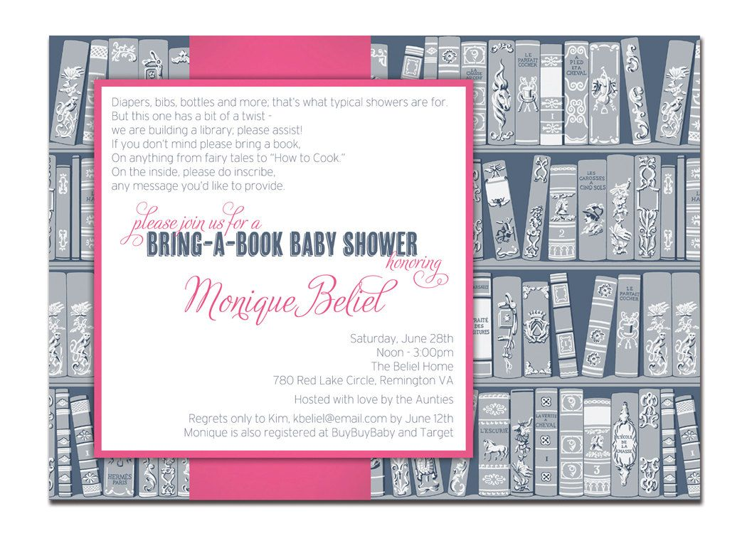 Bring a book baby shower invitation baby girl navy and pink build a bring a book baby shower invitation baby girl navy and pink build a library baby books diy printable or printed monique style filmwisefo