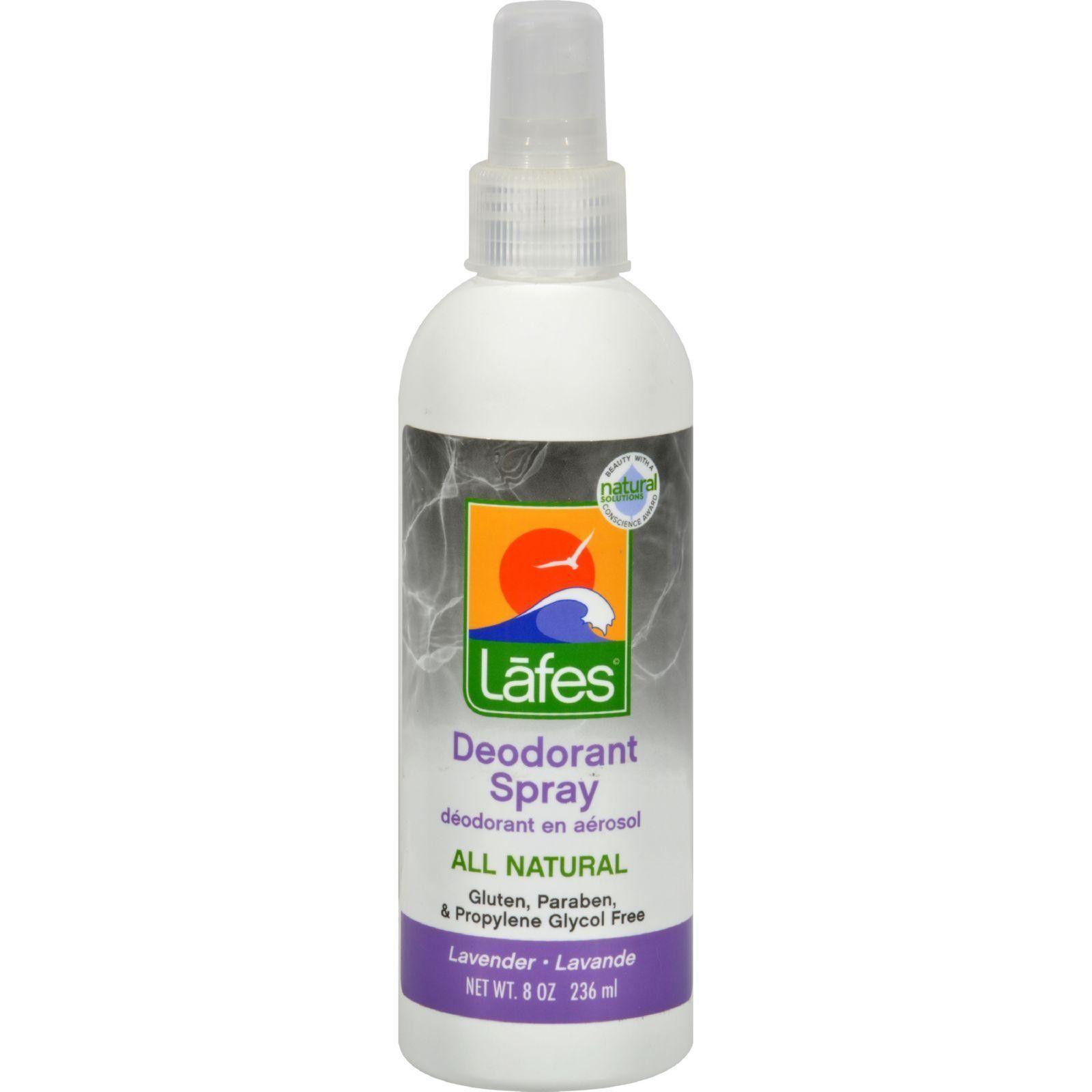 Lafes deodorant spray lavender 8 fl oz deodorant