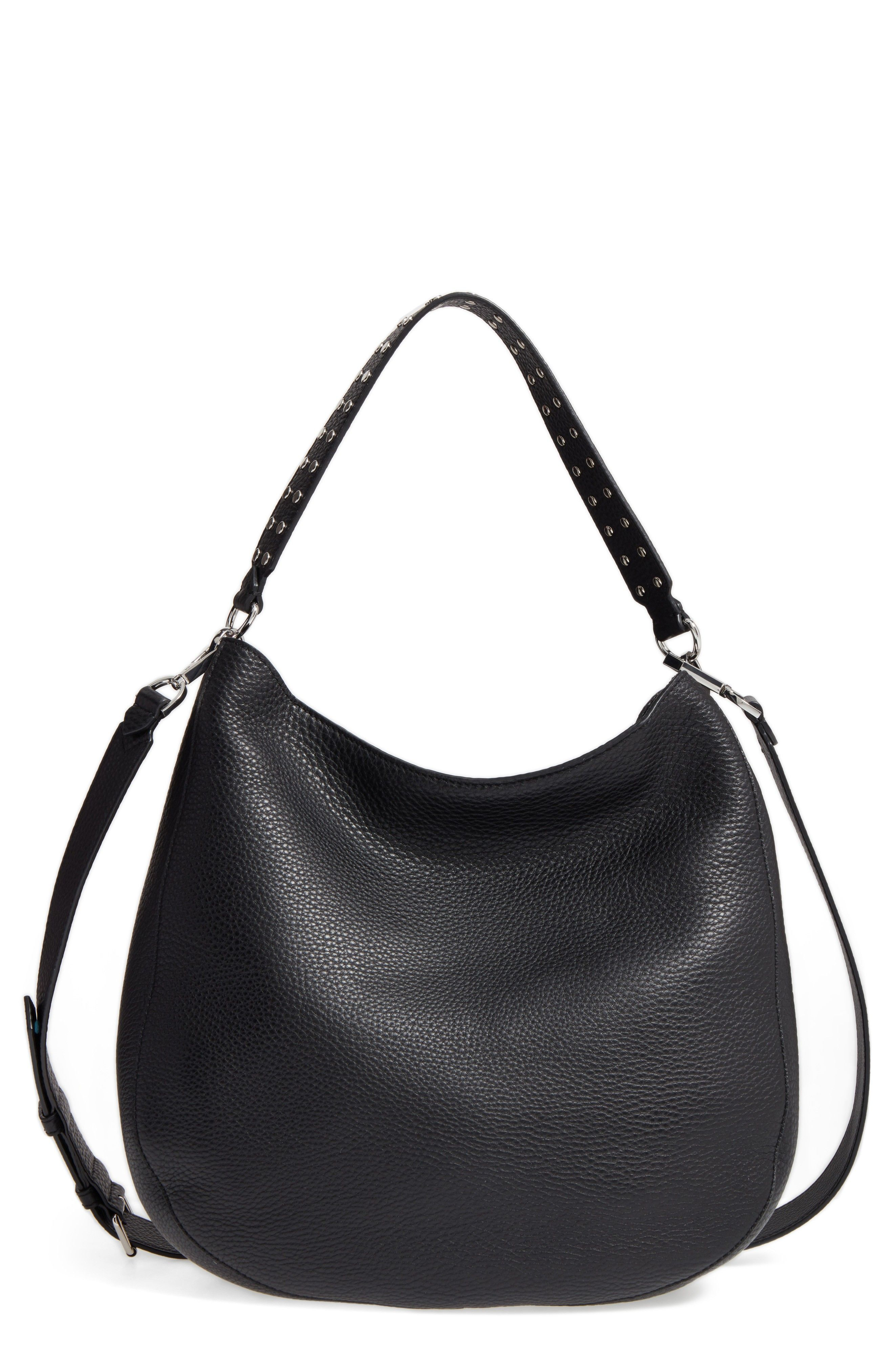 Convertible Leather Hobo - Pebbled leather | Nordstrom Sale ...