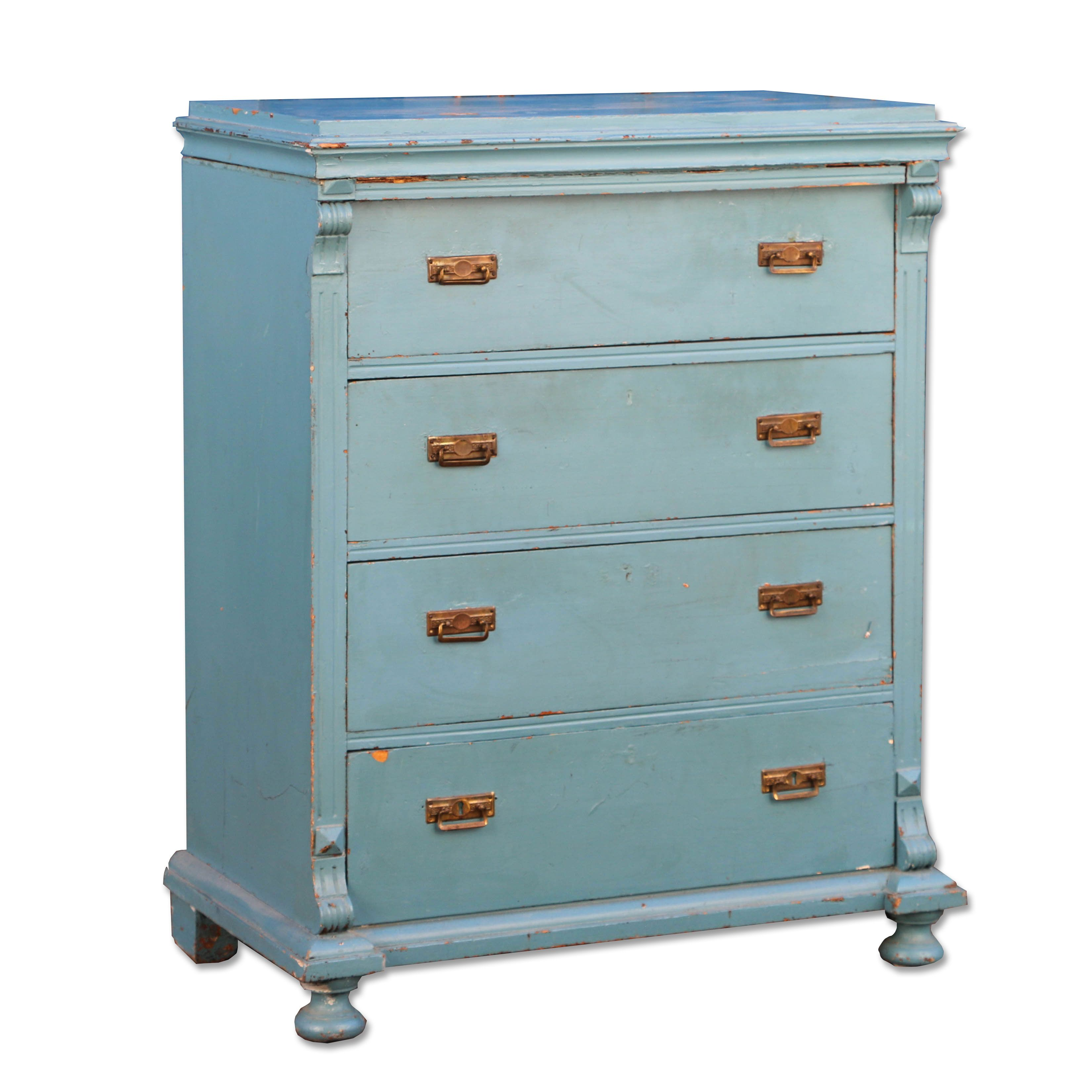 Chest Of Drawers Scandinavian Antiques Vintage Antiques Vintage Chest Of Drawers Chest Of Drawers Blue Chest Of Drawers