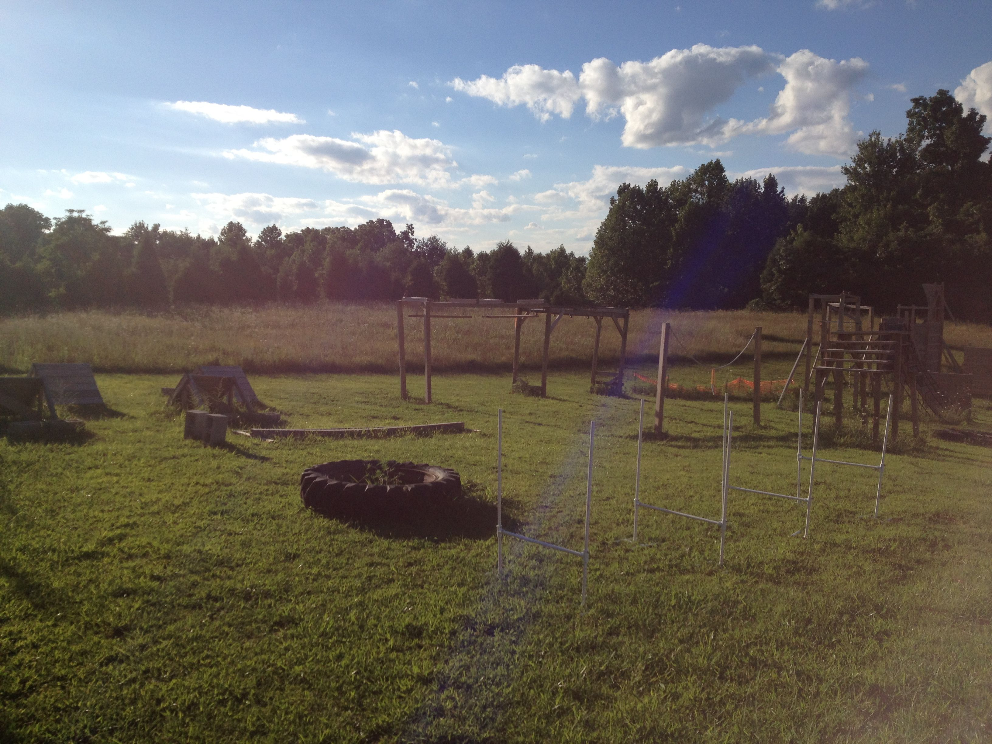 obstacles pinterest backyard obstacle course american ninja