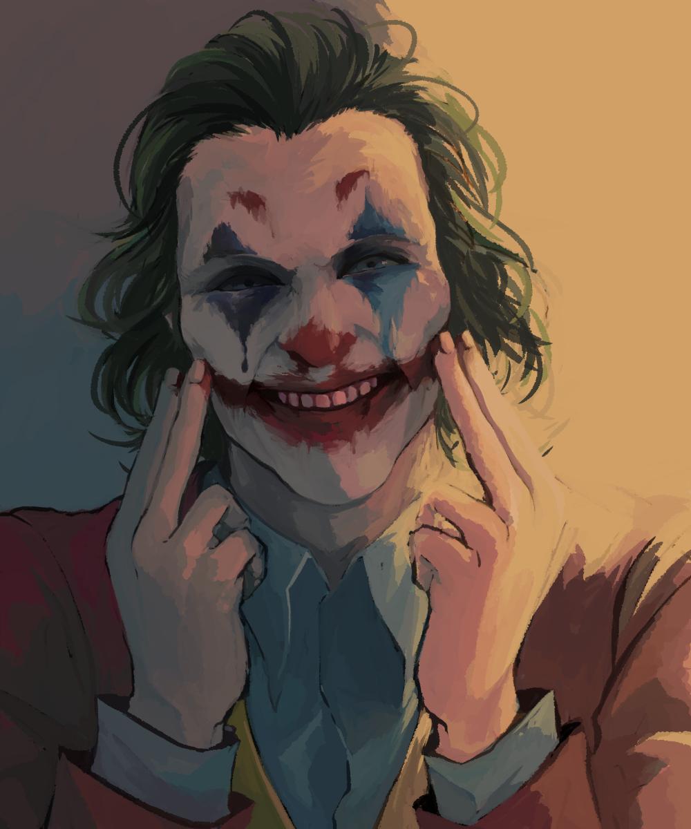 MUSH T-Shirt Joker Put on a Happy Face