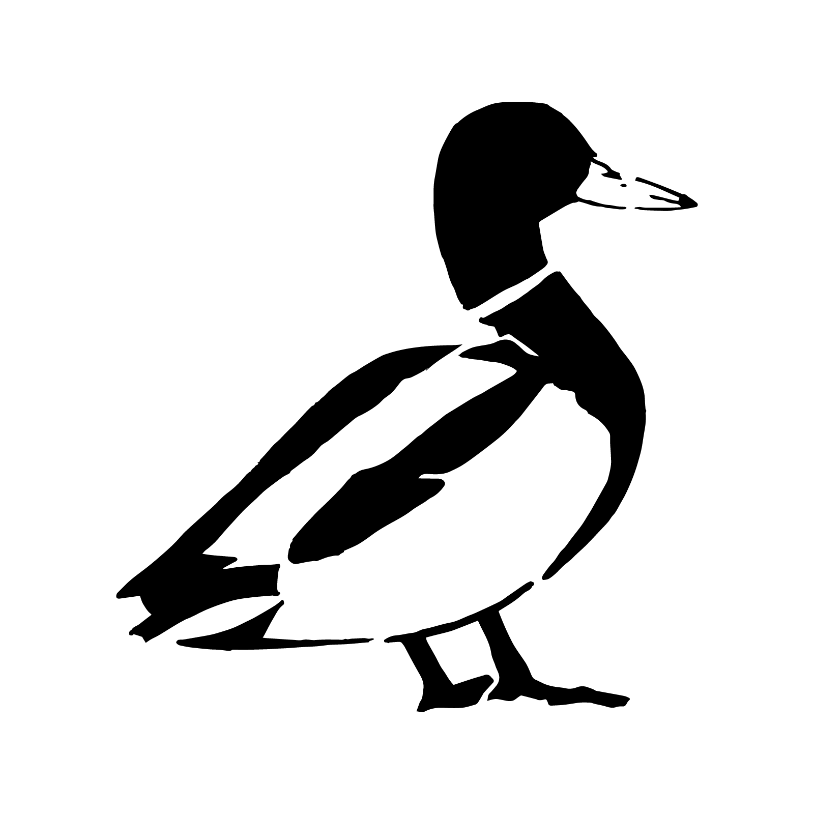 Penguin Stencil for Crafts & Walls | Stenciling, Laser cutting and ...