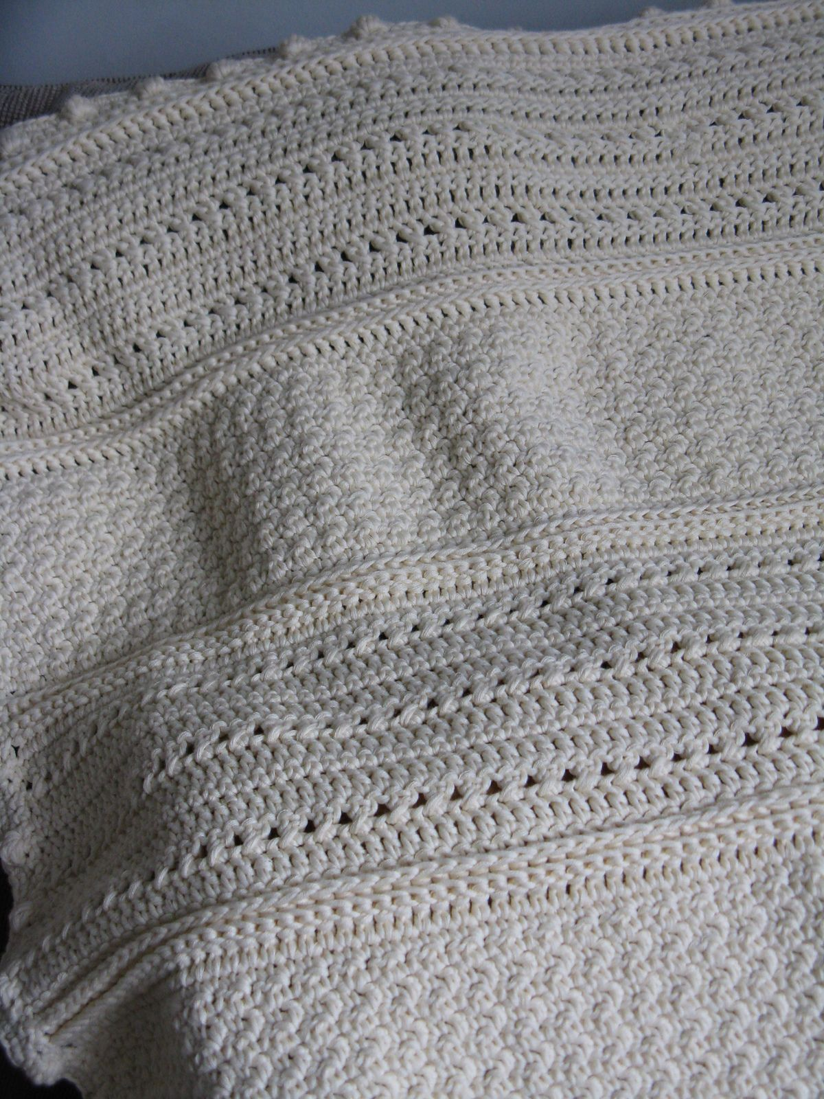 May Day Baby Blanket By Cindy Van Den Toorn - Free Crochet Pattern ...
