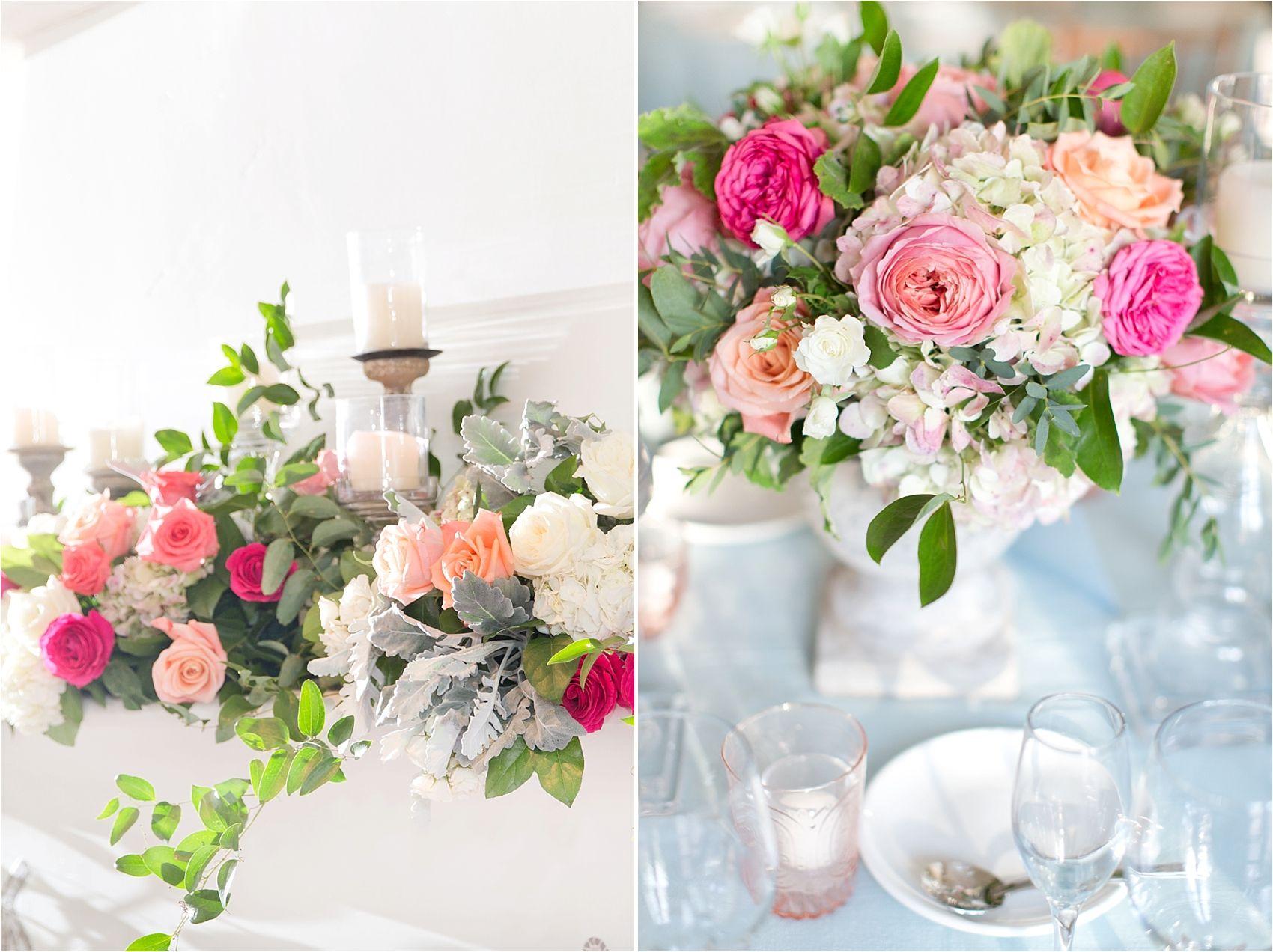 Wedding decoration ideas blue and white  Pink u French Blue Wedding  Blue Wedding Ideas  Weddings Inc