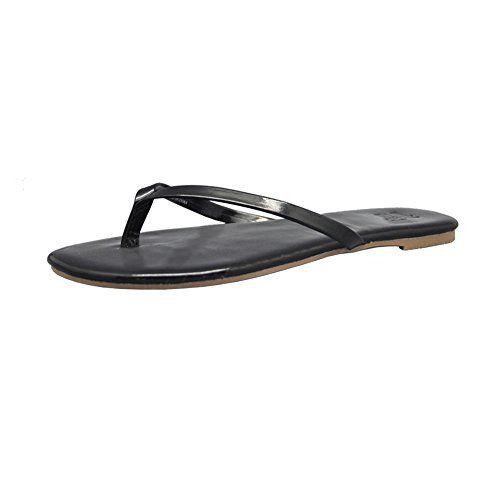 d37f0740e7d617 HansAlice Fashion Flip Flops Thong Sandals For Girl Lady Women 9 Black --  Click image