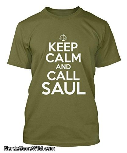Keep Calm And Call Saul Mens T-shirt Tee