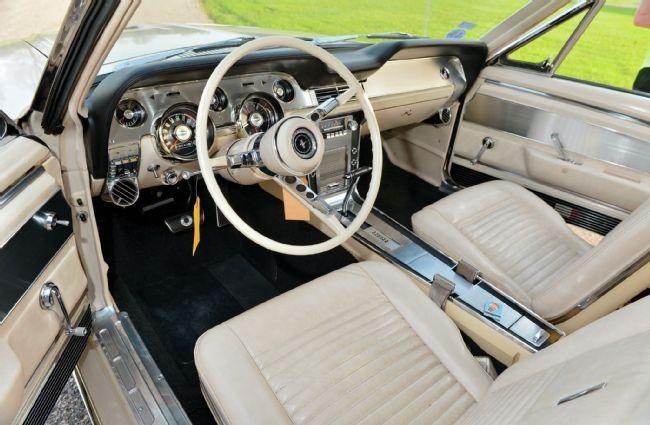 1967 Ford Mustang Convertible Interior Mustang Convertible Ford