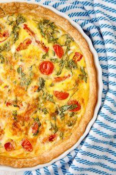 Caprese quiche recetas para cocinar receta para y recetas caprese quiche food for the whole family and baby past purees forumfinder Image collections