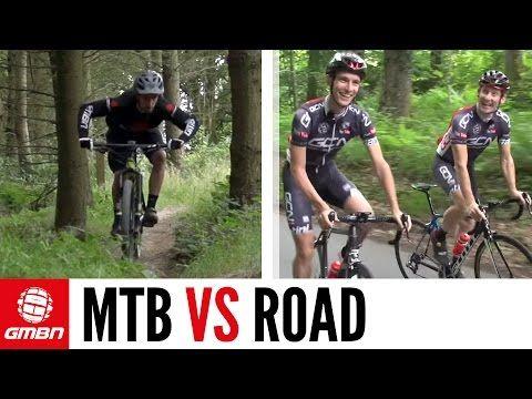 Is Mountain Biking Harder Than Road Cycling Gmbn Vs Gcn