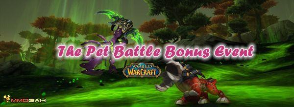 The Pet Battle Bonus Event In World Of Warcraft World Of Warcraft World Pets