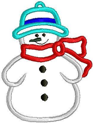 4x4 Snowman Never Miss It Embroidery Applique Pinterest