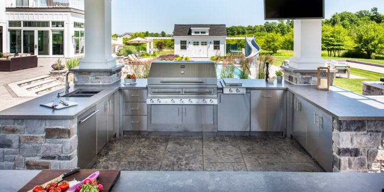 Outdoor Kitchen Pictures Kalamazoo Outdoor Gourmet Outdoor
