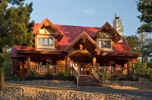 cabin design ideas and plans distinctive log cabins - Log Cabin Design Ideas