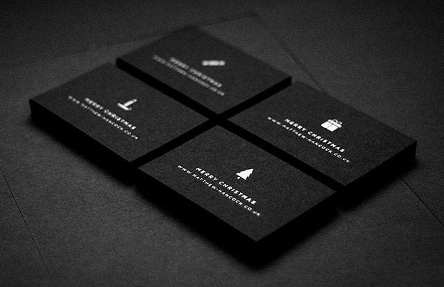 Black white christmas cards by matthew hancock minimal christmas black white christmas cards by matthew hancock reheart Gallery
