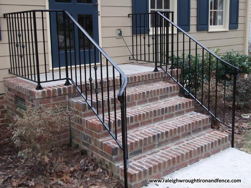 Best Durham Nc Iron Railing Fabricator In 2019 Porch Stairs 400 x 300
