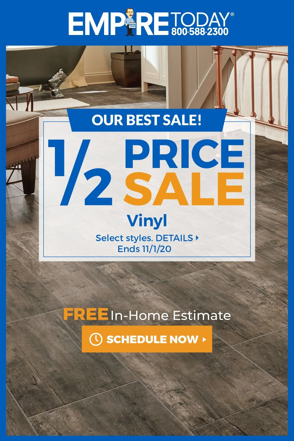 1 2 Price Sale Hardwood Vinyl Laminate Carpet Shop At Home For New Floors In 2020 Home Estimate House Flooring Today