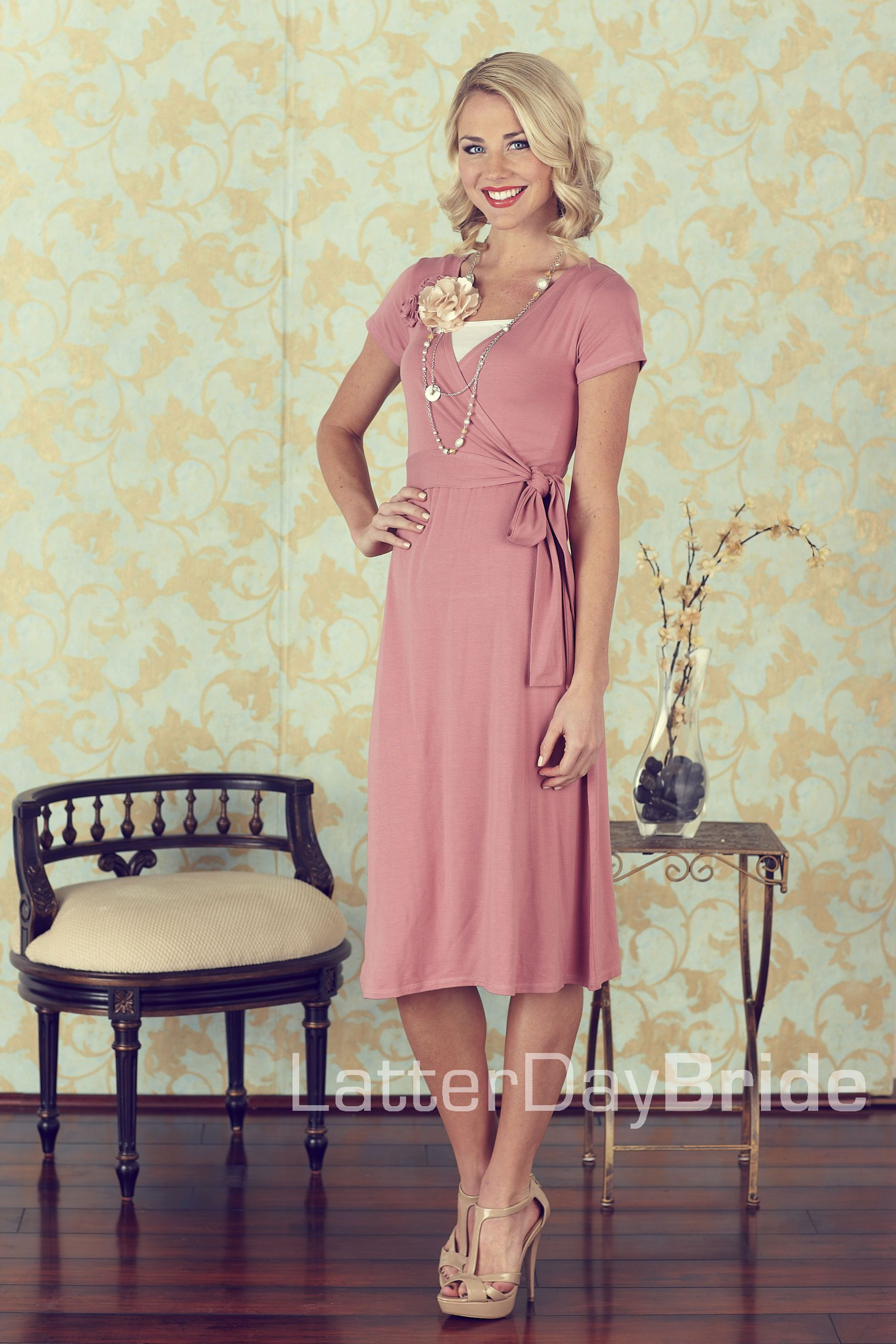 Modest Clothing, MR 7014   LatterDayBride & Prom Bridesmaid ...