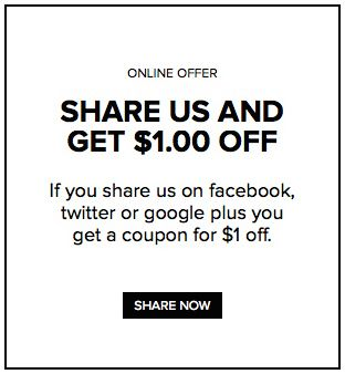 If You Share Us On Facebook Twitter Or Google  You Get A Coupon