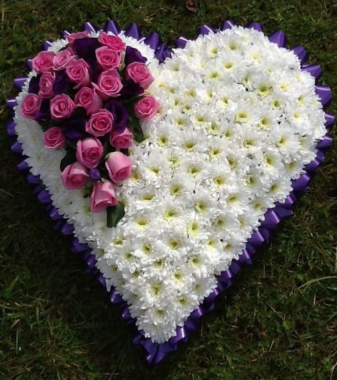 Heart Flower Tribute