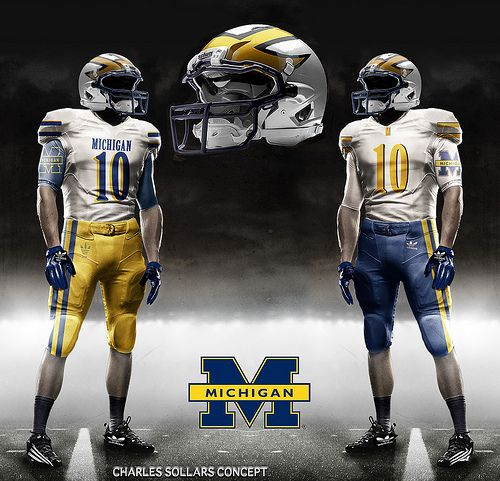 the latest 55531 7e14b Michigan Football Uniforms: Why Fake Design Could Be the ...